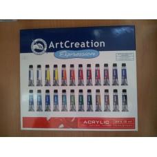 Art Creation Acrylic 24 x 12 ml