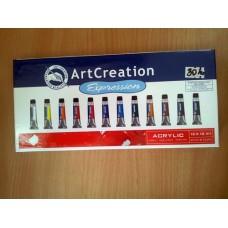 Art Creation Acrylic 12 x 12 ml