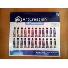 Art Creation Water Colour 24 x 12 ml