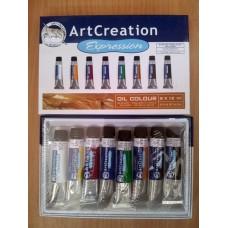 Art Creation Oil Colour 8 x 12 ml
