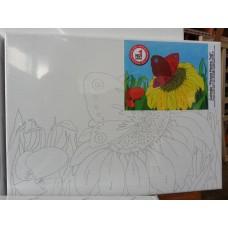 Floare - sasiu pre pictat 22 x 30